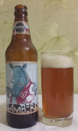 Heartly Craft Amber Ale Lacky Rhino